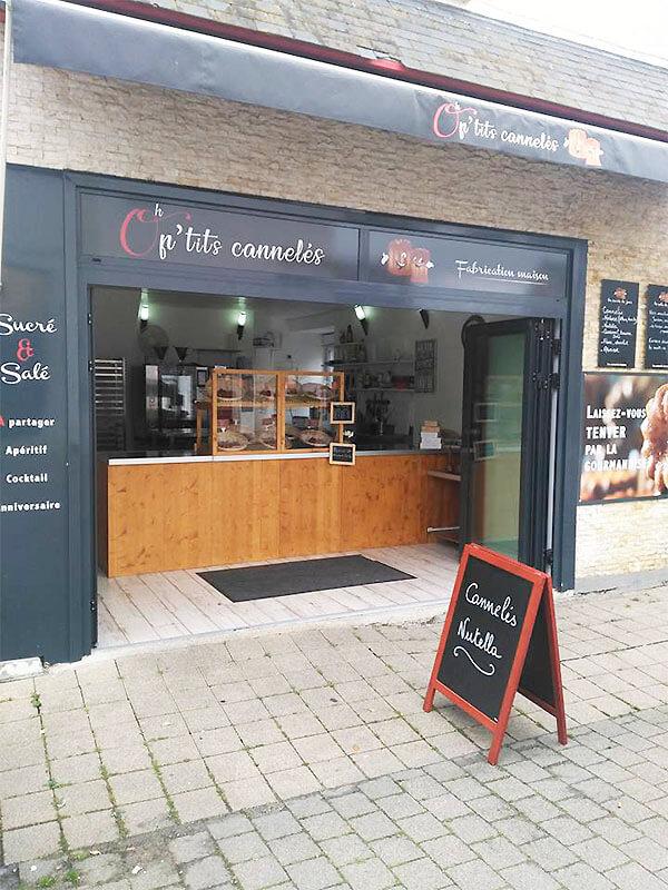 Oh P'tits Cannelés au Pouliguen (44) - Fabrication maison de cannelés sucrés et salés, macarons à l'ancienne